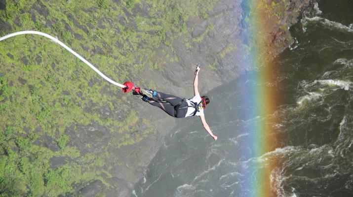 Saut à l'élastique-Victoria Falls-Bungee du pont des chutes Victoria-2