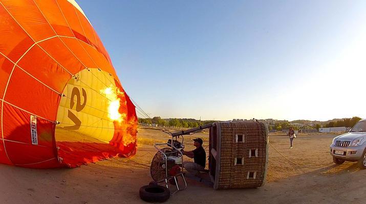 Hot Air Ballooning-Toledo-Hot air balloon flight over Toledo near Madrid-4
