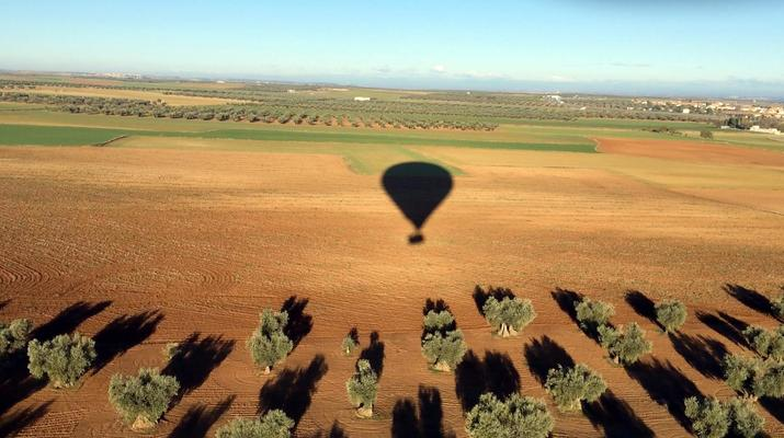 Hot Air Ballooning-Toledo-Hot air balloon flight over Toledo near Madrid-5