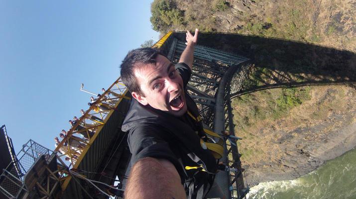 Saut à l'élastique-Victoria Falls-Bungee du pont des chutes Victoria-3