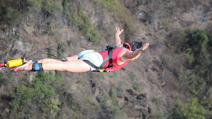 Saut à l'élastique-Victoria Falls-Bungee du pont des chutes Victoria-1