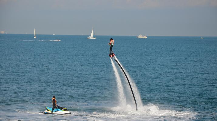 Flyboard/Hoverboard-Nice-Session Flyboard à Nice-6