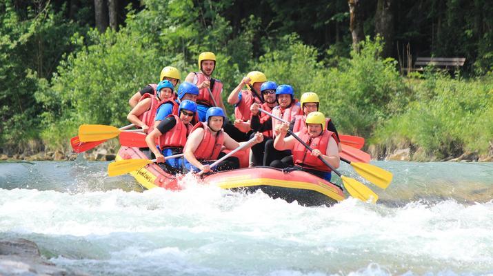 Rafting-Munich-Rafting auf der Isar von Lenggries nach Bad Tölz bei München-6