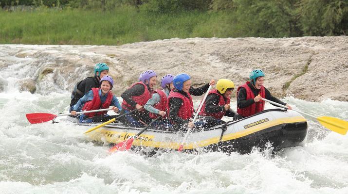 Rafting-Munich-Rafting auf der Isar von Lenggries nach Bad Tölz bei München-2