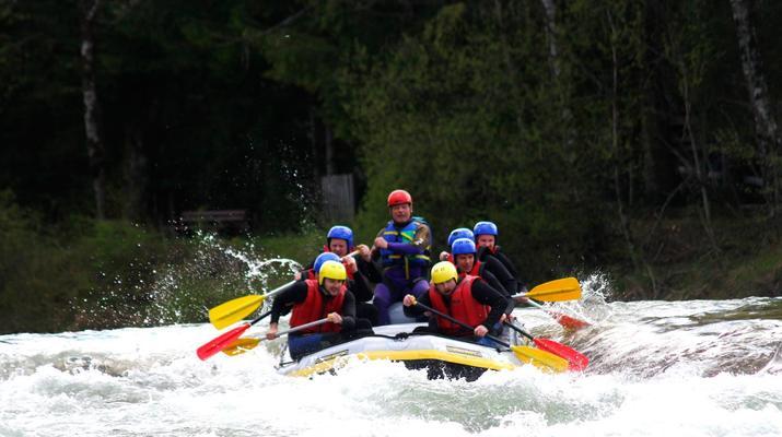 Rafting-Munich-Rafting auf der Isar von Lenggries nach Bad Tölz bei München-8