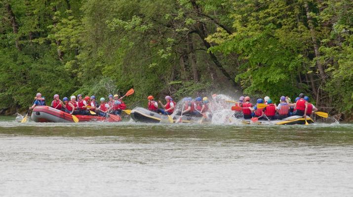 Rafting-Munich-Rafting auf der Isar von Lenggries nach Bad Tölz bei München-10