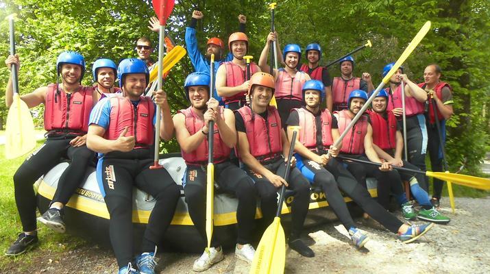 Rafting-Munich-Rafting auf der Isar von Lenggries nach Bad Tölz bei München-3