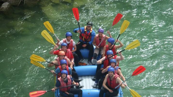 Rafting-Munich-Rafting auf der Isar von Lenggries nach Bad Tölz bei München-1