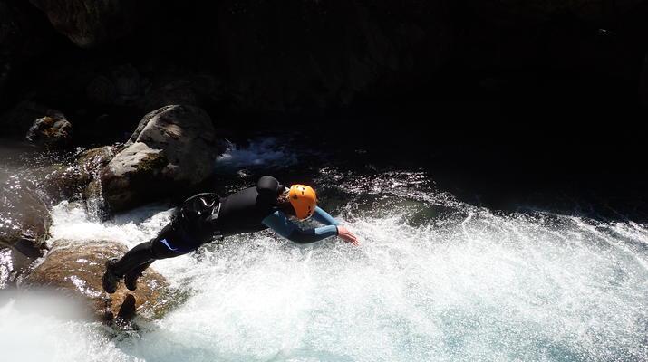 Canyoning-Hautes-Pyrénées-Canyon du Gave d'Héas, près d'Argelès Gazost-5