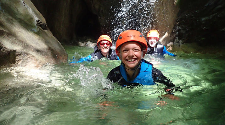 Canyoning-Annecy-Canyon d'Angon près du Lac d'Annecy-4