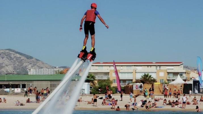 Flyboard/Hoverboard-Marseille-Sessions de Flyboard à la Pointe-Rouge, Marseille-1
