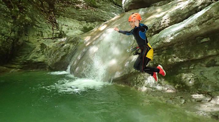 Canyoning-Annecy-Canyon d'Angon près du Lac d'Annecy-1