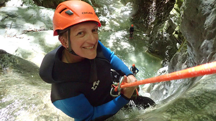Canyoning-Annecy-Canyon d'Angon près du Lac d'Annecy-5
