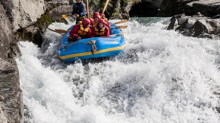 Rafting-Queenstown-Rafting down Shotover River, Queenstown-5