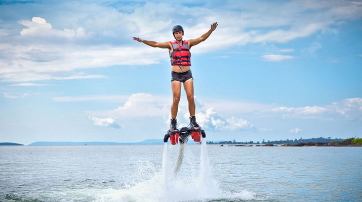 Flyboard/Hoverboard-Cannes-Session Flyboard à Théoule-sur-Mer-5