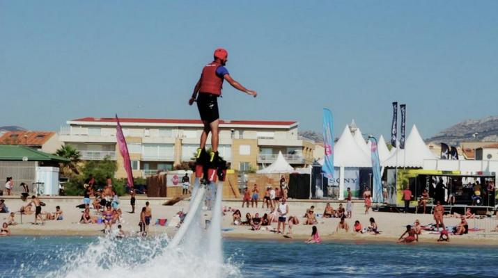 Flyboard/Hoverboard-Marseille-Sessions de Flyboard à la Pointe-Rouge, Marseille-2