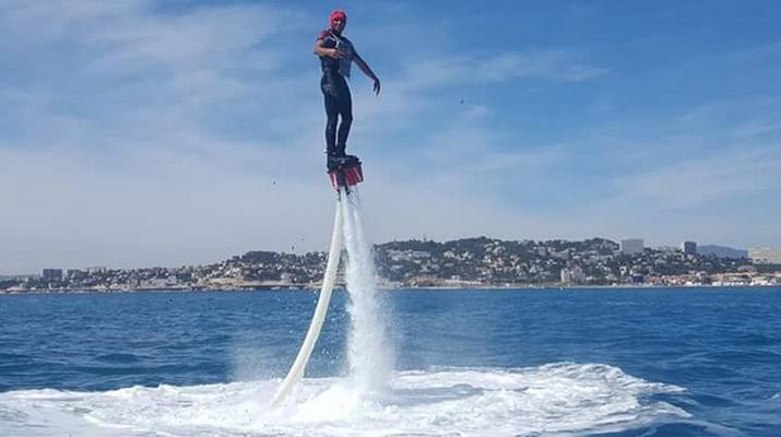 Flyboard/Hoverboard-Marseille-Sessions de Flyboard à la Pointe-Rouge, Marseille-5