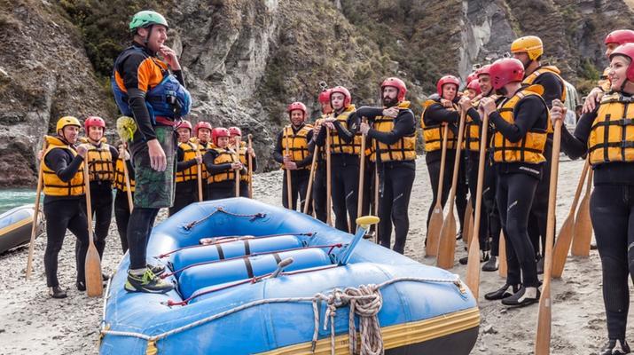 Rafting-Queenstown-Rafting down Shotover River, Queenstown-2