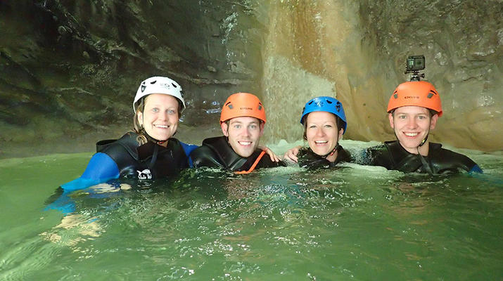 Canyoning-Annecy-Canyon d'Angon près du Lac d'Annecy-3