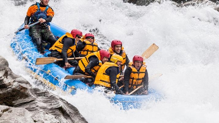 Rafting-Queenstown-Rafting down Shotover River, Queenstown-1