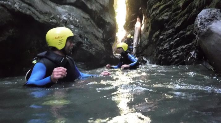 Canyoning-Laruns-Canyon du Bitet Inférieur dans la vallée d'Ossau, Laruns-5