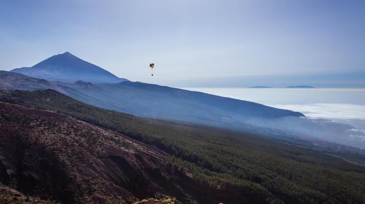 Paragliding-Teide Natural Park, Tenerife-Highest tandem paragliding flight in Europe from Mount Teide, Tenerife-8