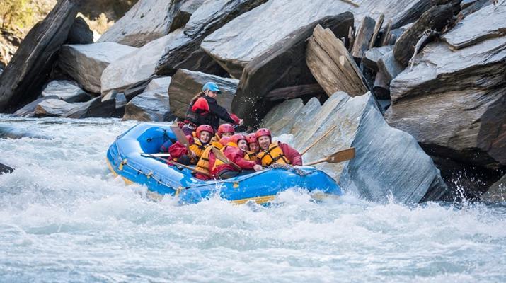 Rafting-Queenstown-Rafting down Shotover River, Queenstown-3