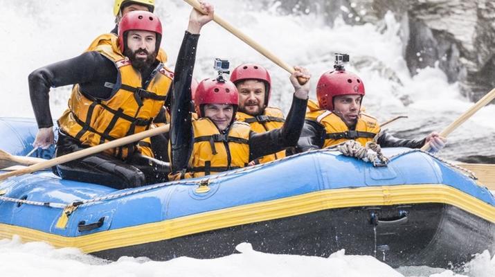 Rafting-Queenstown-Rafting down Shotover River, Queenstown-4