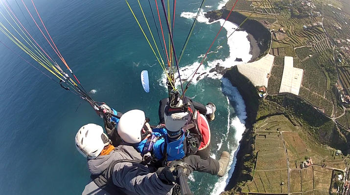 Paragliding-Teide Natural Park, Tenerife-Highest tandem paragliding flight in Europe from Mount Teide, Tenerife-4