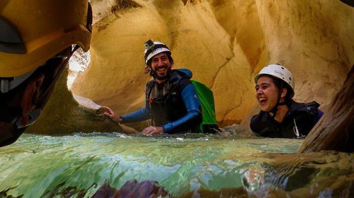 Canyoning-Sierra de Guara-Randonnée Canyoning Canyon Peonera à la Sierra de Guara, Huesca-4