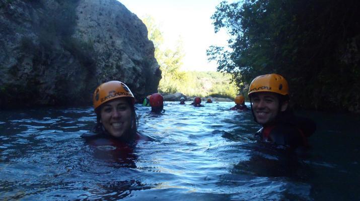 Canyoning-Gorgo de la Escalera-Canyoning at Gorgo de la Escalera near Valencia-6