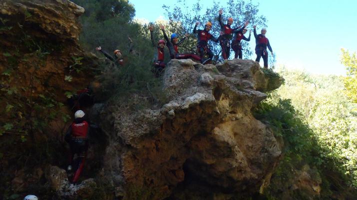Canyoning-Gorgo de la Escalera-Canyoning at Gorgo de la Escalera near Valencia-7