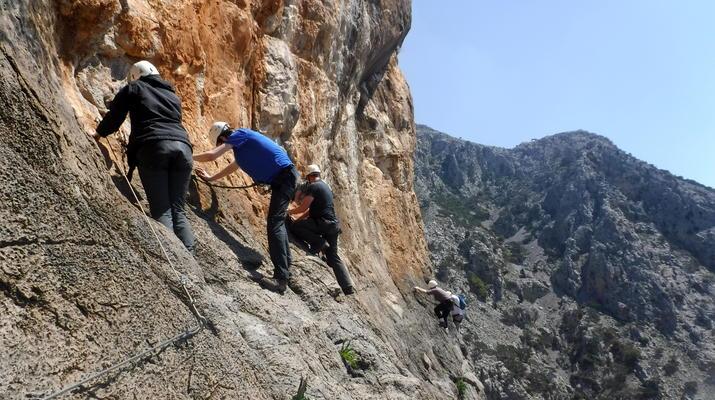 Klettersteig-Gortyn-Klettersteig in den Asterousia-Bergen mit Start im Dorf Vagionia-1