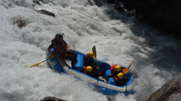 Rafting-Samoëns, Le Grand Massif-Rafting descent of Giffre river in Samoens-8