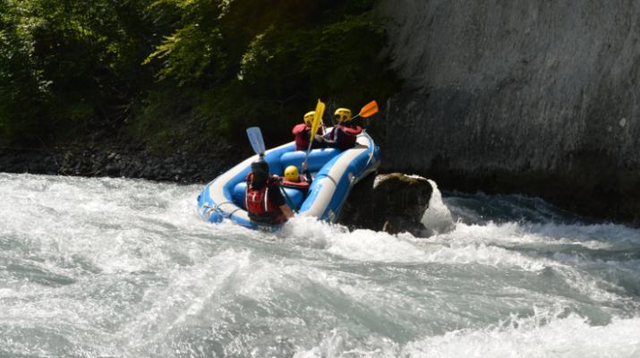Rafting-Samoëns, Le Grand Massif-Rafting descent of Giffre river in Samoens-9