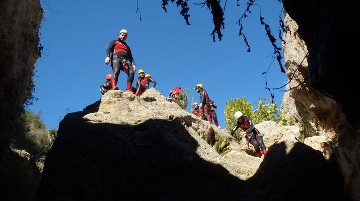 Canyoning-Gorgo de la Escalera-Canyoning at Gorgo de la Escalera near Valencia-2