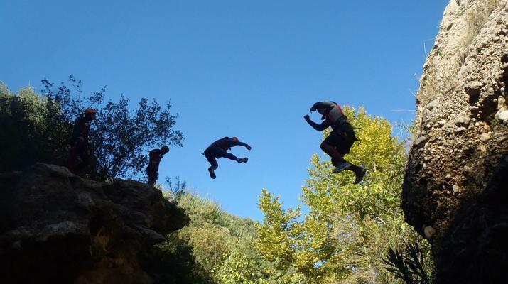 Canyoning-Gorgo de la Escalera-Canyoning at Gorgo de la Escalera near Valencia-9