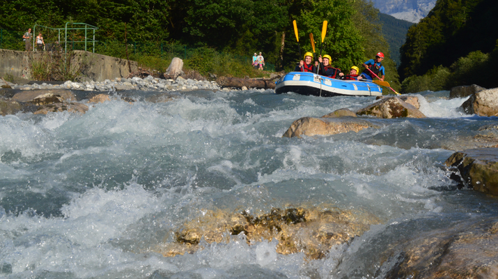 Rafting-Samoëns, Le Grand Massif-Rafting descent of Giffre river in Samoens-7