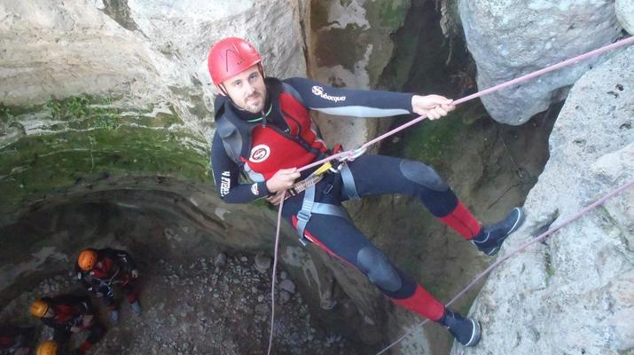 Canyoning-Gorgo de la Escalera-Canyoning at Gorgo de la Escalera near Valencia-10