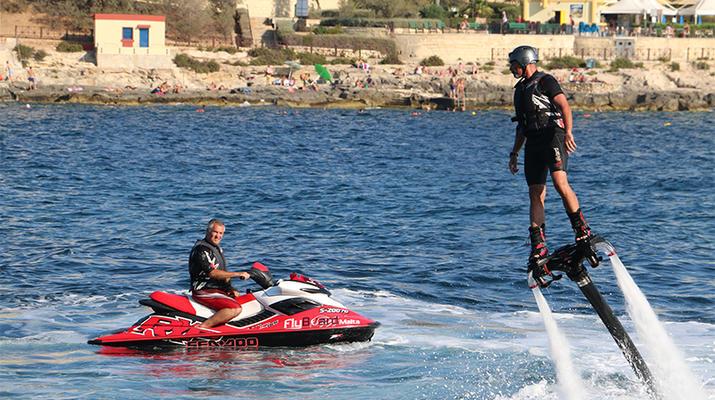 Flyboard/Hoverboard-Malte-Séances de vol à Birkirkara, Malte-10