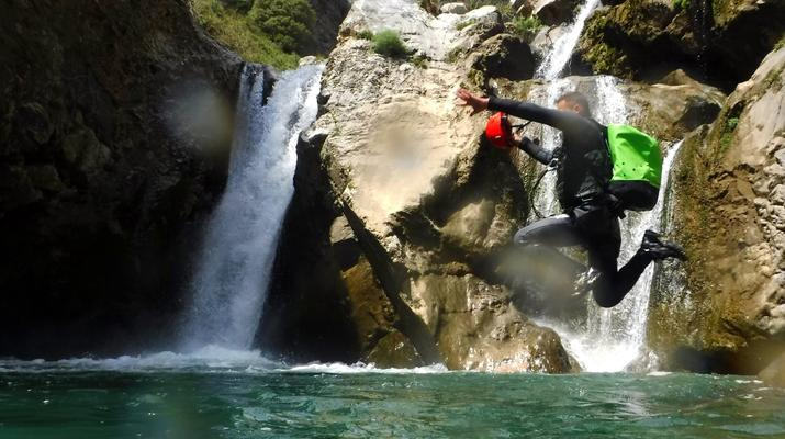 Canyoning-Heraklion-Canyoning in der Portela-Schlucht, Viannos im Süden Kretas-3