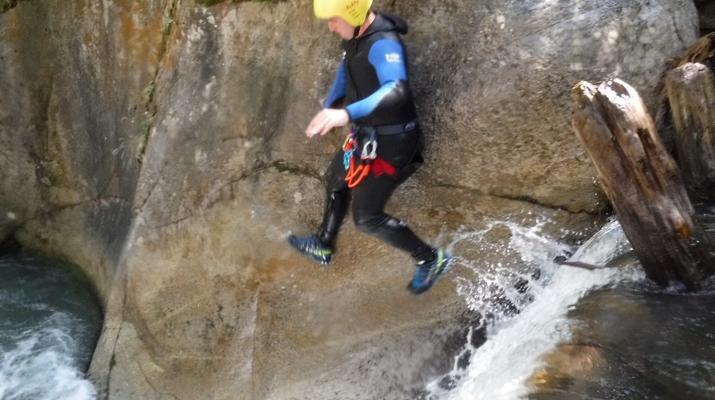 Canyoning-Laruns-Canyoning dans les Gorges du Bitet Supérieur à Laruns-5