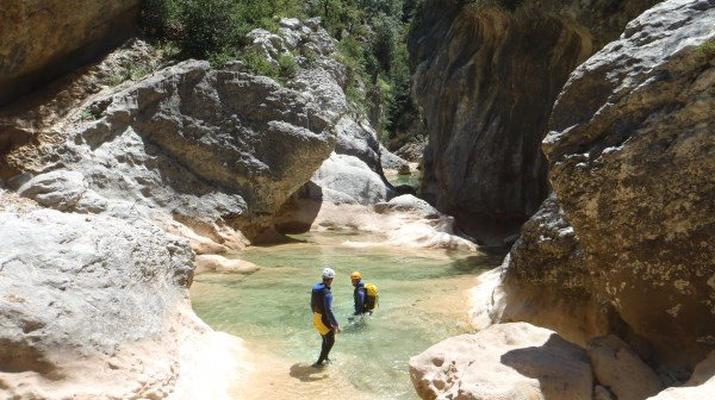 Canyoning-Sierra de Guara-Randonnée Canyoning Canyon Peonera à la Sierra de Guara, Huesca-1