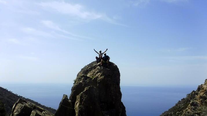 Klettersteig-Gortyn-Klettersteig in den Asterousia-Bergen mit Start im Dorf Vagionia-2
