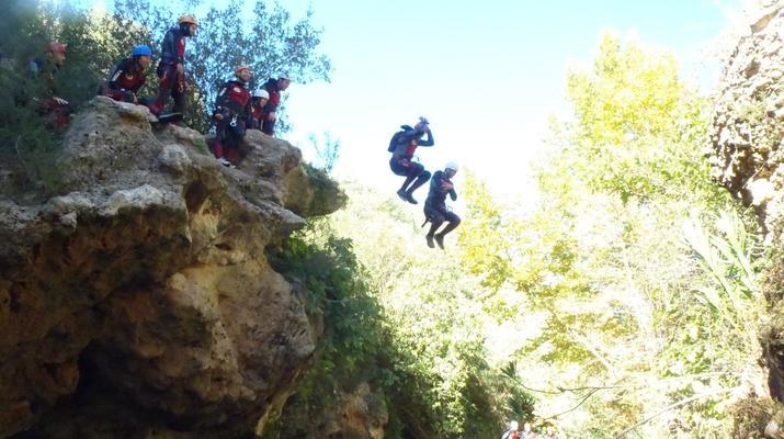 Canyoning-Gorgo de la Escalera-Canyoning at Gorgo de la Escalera near Valencia-4