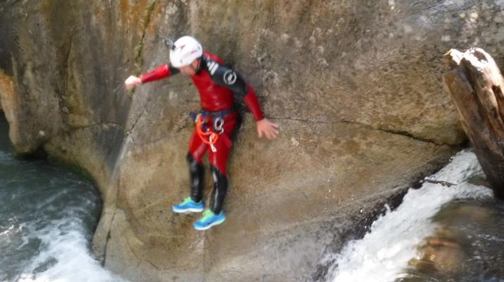 Canyoning-Laruns-Canyoning dans les Gorges du Bitet Supérieur à Laruns-4
