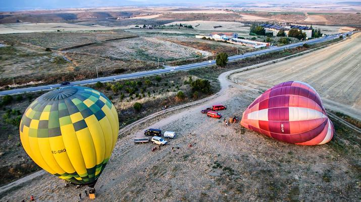 Hot Air Ballooning-Segovia-Hot air balloon flights in Segovia, near Madrid-3