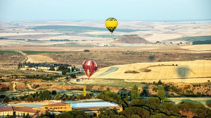 Hot Air Ballooning-Segovia-Hot air balloon flights in Segovia, near Madrid-4