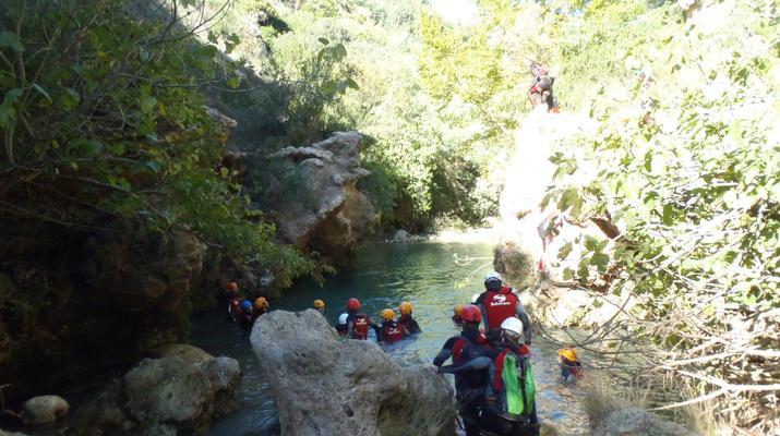 Canyoning-Gorgo de la Escalera-Canyoning at Gorgo de la Escalera near Valencia-5