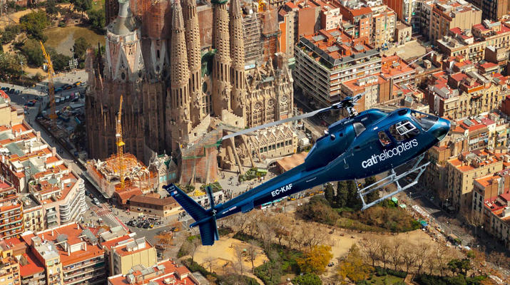 Helicopter tours-Barcelona-Panoramic Helicopter flights over Barcelona-1